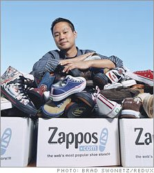 토니 셰이 CEO of Zappos