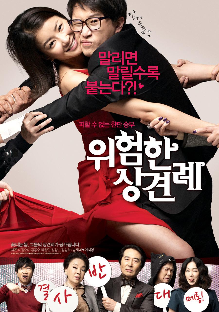 위험한 상견례(2011) 영화 포스터, 감독: 김진영 @danger2011.kr