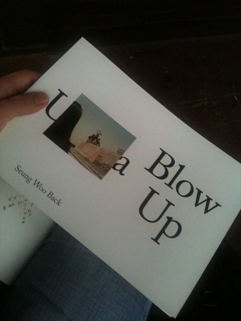 Utopia/Blow Up by 백승우 (이안북스)