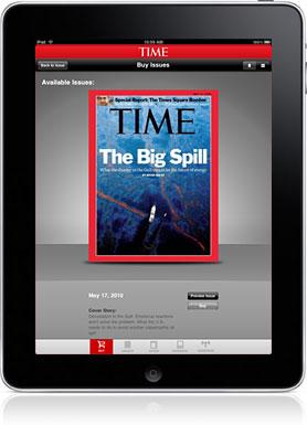 Time iPad magazine