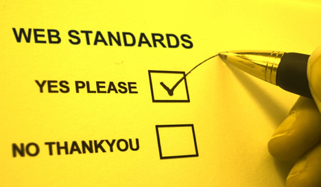 web standards? yes, please @ooyes.net