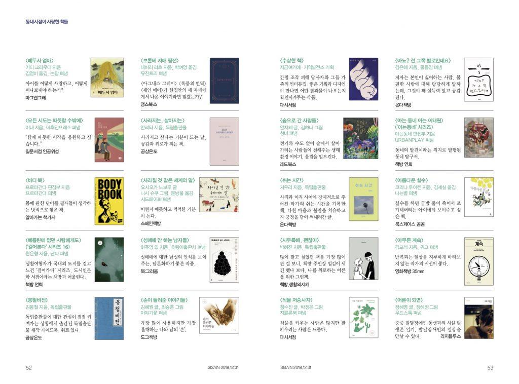 2018 동네서점이 사랑한 책들 - 2/3
